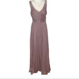J.Crew Silk Crepe Chiffon Heidi•Dress